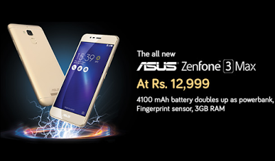 snapdeal asus zenfone  max