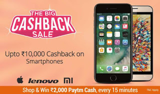 the big cashback on mobiles