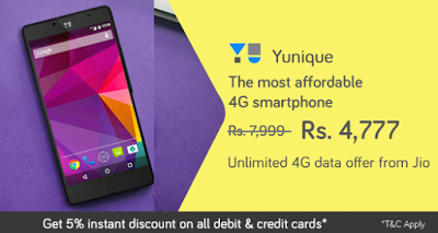 yu yunique snapdeal at rs