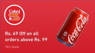 CokeHome rs off on rs order