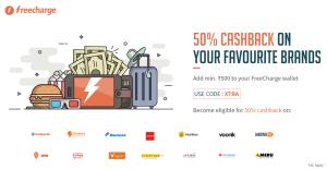 freecharge  cashback add