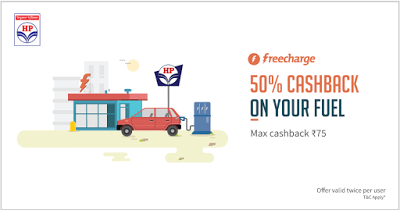 HPCL fuel freecharge