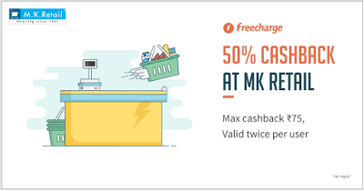 MK retails freecharge