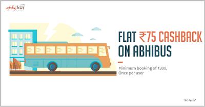 abhibus freecharge  cashback offer