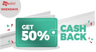 bookmyshow  cashback via mywallet