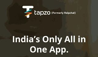 tapzo banner