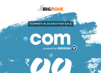 [Sale] Get .Com Domain Name @ Just Rs.99