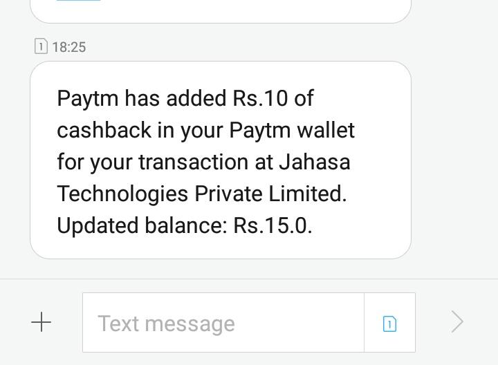 Paytm cash loot