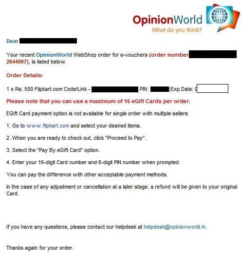 OpinionWorld Surveys Earning