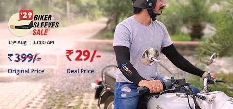 Droom Biker Sleeves Sale