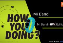Mi Band HRX Edition at Rs 809