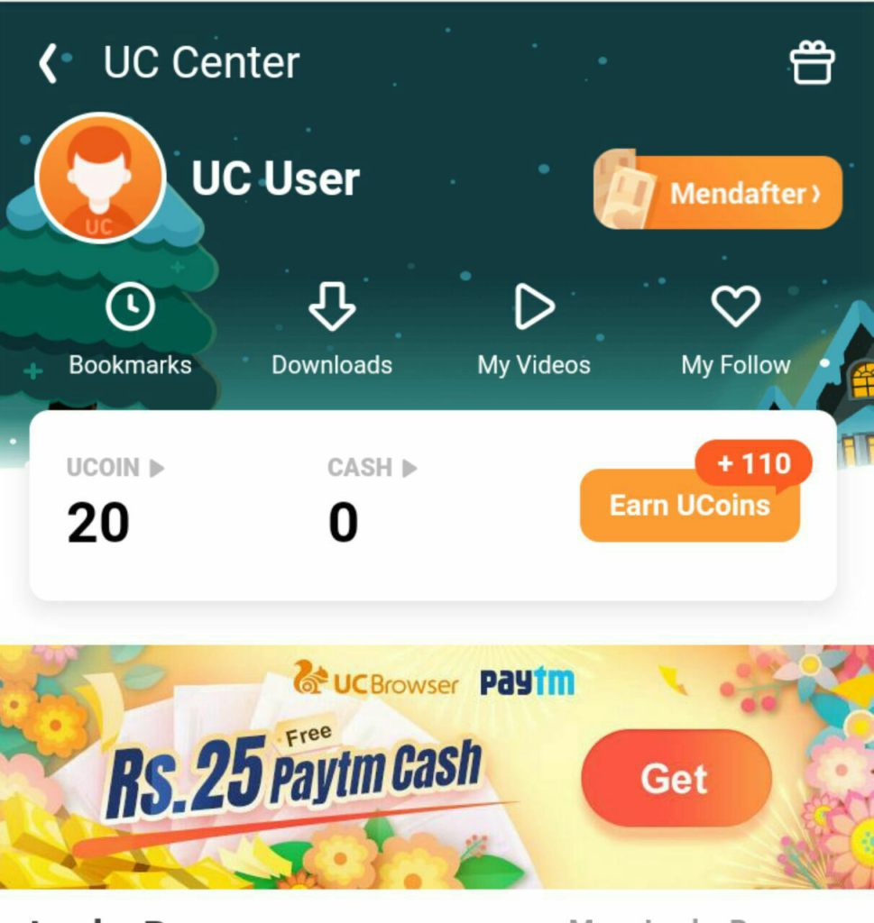 UC mini Refer Loot