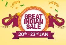 Amazon Great Indian Sale 2019