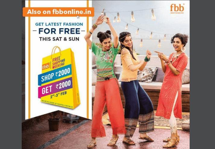 FBB Free Shopping Weekend
