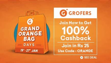 Grofers Grand Orange Days