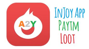 Injoy App Paytm Loot