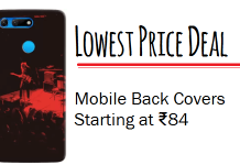Cheapest Mobile Back Covers