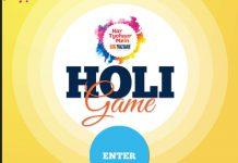 Big Bazaar Holi Game