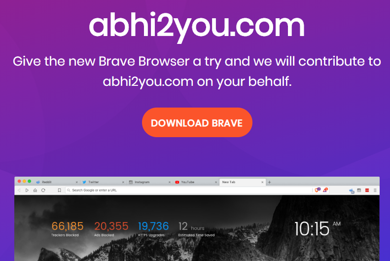 brave browser loot
