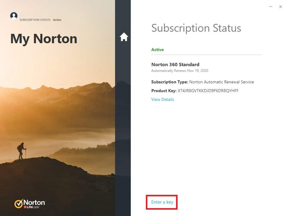 Free Norton for 1 year