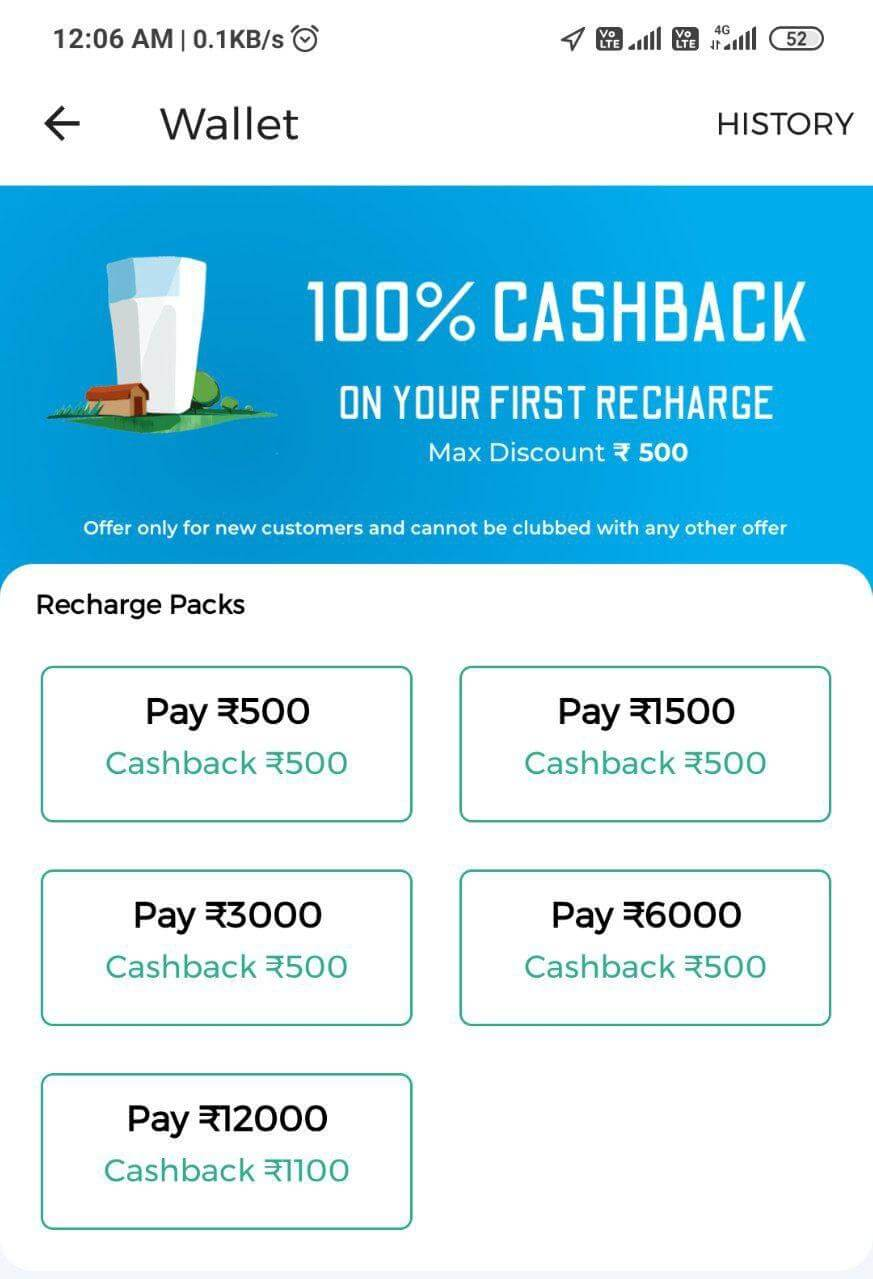 100% Cashback Country Delight