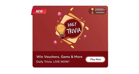 Flipkart Daily Trivia Todays Answers